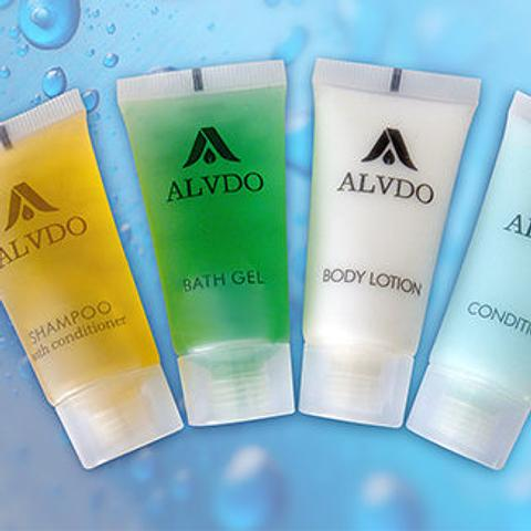 Alvdo Guest Amenities Cleansing Bathroom Amenities 20ml Tubes Shampoo,  Conditioner, Bath Gel, Body Lotion, Shampoo With Conditioner