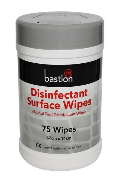 Bastion Disinfectant Surface Wipe Alcohol Free Wet Wipes